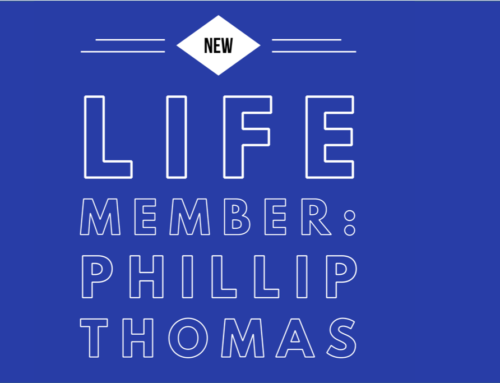New AVAA Life Member – Phillip Thomas