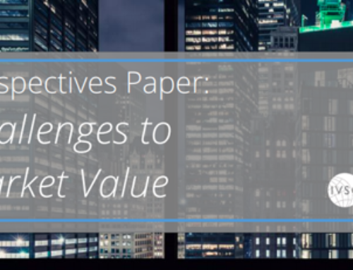 IVSC Perspectives Paper: Challenges to Market Value.